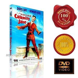 Calamity Jane  - Doris Day & Howard Keel -   (1953) - NEW DVD