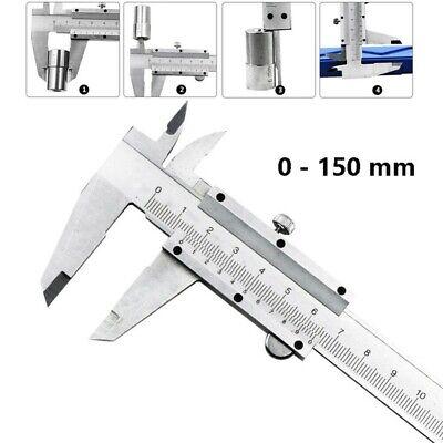 Us 0-150mm Stainless Steel Vernier Calipers Micrometer Gauging Measurement Tool