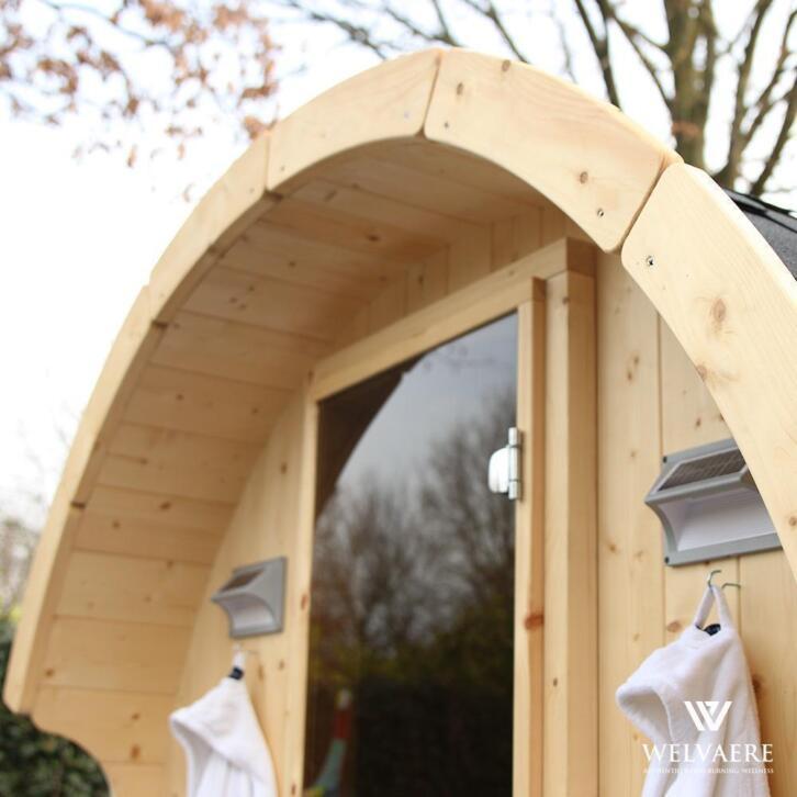 Houtgestookte barrelsauna | sauna voor buiten | op maat