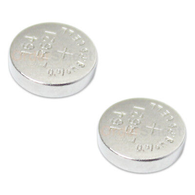 2 PACK NEW Battery Coin Button Watch 1.5V 363 364 SR621W LR621 Authorized Seller