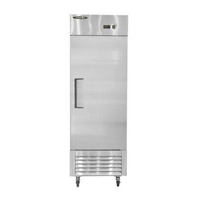 Single Door Stainless Steel Reach-in Refrigerator 20 Cu.ft. 560 Liter
