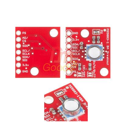 Gy-ms5803 14ba 01ba Fluid Liquid Gas Pressure Sensor Breakout Module For Arduino