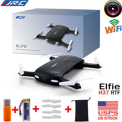 JJRC H37 Altitude Hold Selfie Foldable Drone WIFI Camera FPV RC Quadcopter NEW