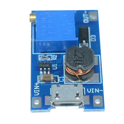 2pcs Dc-dc 2a Booster Board Mt3608 Step Up Module 224v To 528v Replace Xl6009
