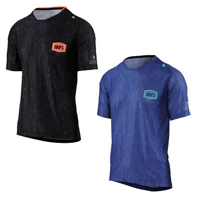100% Celium Heather Jersey Short Sleeve Mountain Bike SS MTB Trail 100