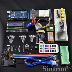 Sintron-MEGA-2560-Upgrade-Kit-Motor-LCD-Servo-Module-for-Arduino-AVR-Starter