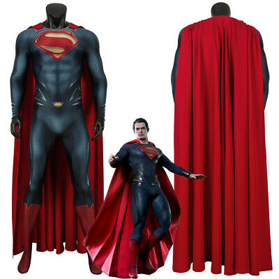 Man of Steel Superman Clark Kent Cosplay Costume 3D Printed](Superman Custom Costume)