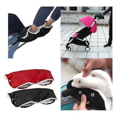 Baby Pram Stroller Warmer Gloves Pushchair Hand Winter Muff Waterproof Accessory