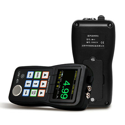 Um-4dl Ultrasonic Coating Thickness Gauge Digital Meter Tester A-scan 0.001
