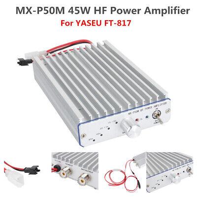 MX-P50M HF Power Amplifier For YASEU FT-817 ICOM IC-703 Elecraft QRP Ham Radio ()