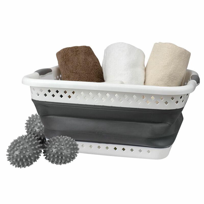 Home Basics Laundry Basket Kit
