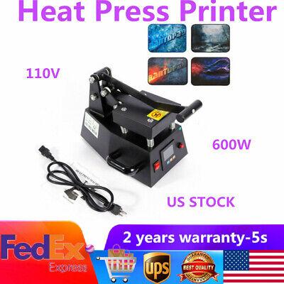 Best Digital Heat Press Label Logo Machine Press Single Heater T-shirt Mug Print