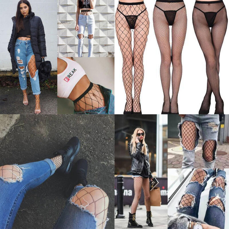 530deb79e Fashion Women s Net Fishnet Bodystockings Pattern Pantyhose Tights ...