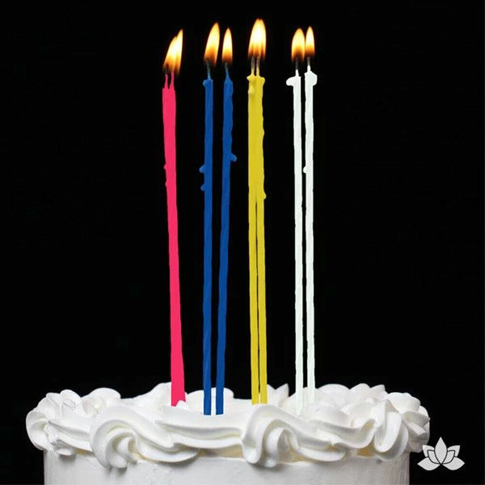 Fine 192Ct Party Candles For Birthday Cake Wedding Baby Shower Favors Personalised Birthday Cards Veneteletsinfo