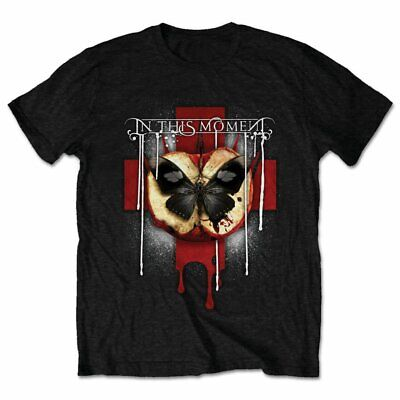 Official In This Moment T Shirt Rotten Apple Mens Classic Rock Metal Band Tee