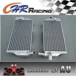 R&L aluminum Radiator for Honda CR250R CR250 CR 250R 05-07 06 2005 2006 2007 07