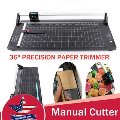 36 Rotary Paper Trimmer Photo Film Sharp Cutter Machine Discretion 1mm