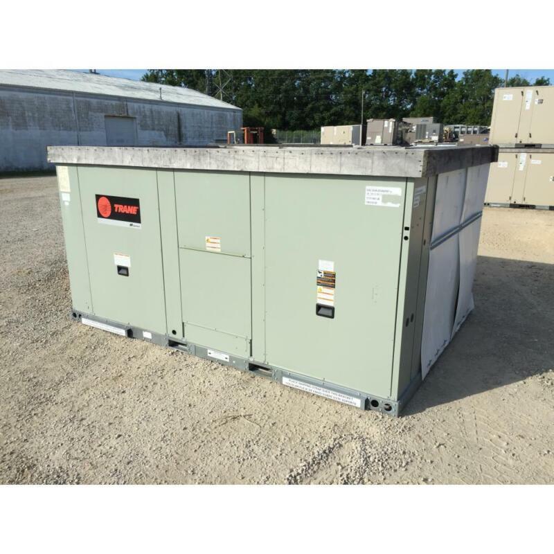 TRANE EAC300A3E0A0000 25 TON CONVERTIBLE ROOFTOP AIR CONDITIONER, 3-PHASE