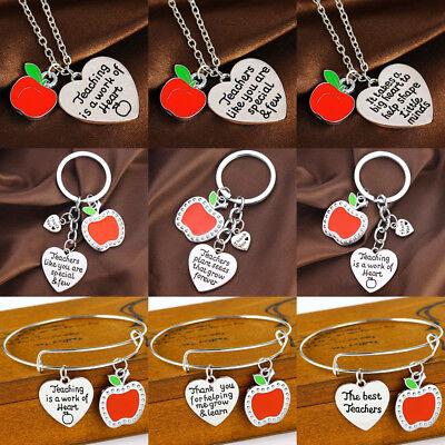 Gift for Teacher Teaching Assistant Nursery Teacher Assistant Bracelet Necklace - Bracelets For Teachers