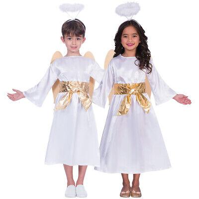 Unisex Kinder Engel Kostüm mit Flügel und - Flügel Und Halo Kostüm