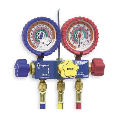 Mechanical Manifold Gauge Set3-valve 718-cc