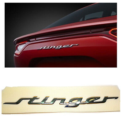 Genuine OEM Stinger Lettering Emblem Badge For 2017-2019 Kia Stinger 86311J5000