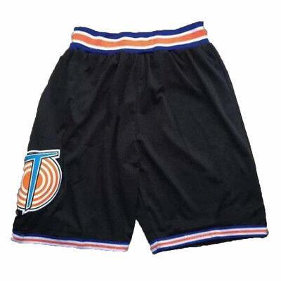 Tune Kader Schwarz Basketball Shorts Space Jam Kostüm Michael Jordan Uniform (Michael Jordan Kostüme)