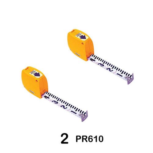 Keson PR-610 Steel Pocket Rod in Feet & Tenths - Set of Two