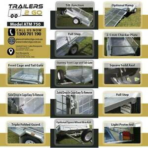 TOP Quality  8 x 5  Tipper Box Trailer Package Morisset Lake Macquarie Area Preview