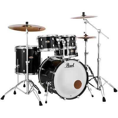 Pearl Drums DMP925SP/C Decade Maple 5pc Drum Kit w/ TH900I Tom Holders Black Ice