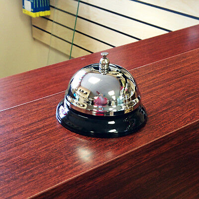 Stainless Steel Counter Top Table Bell Call Bell Help Bell Attention Bell