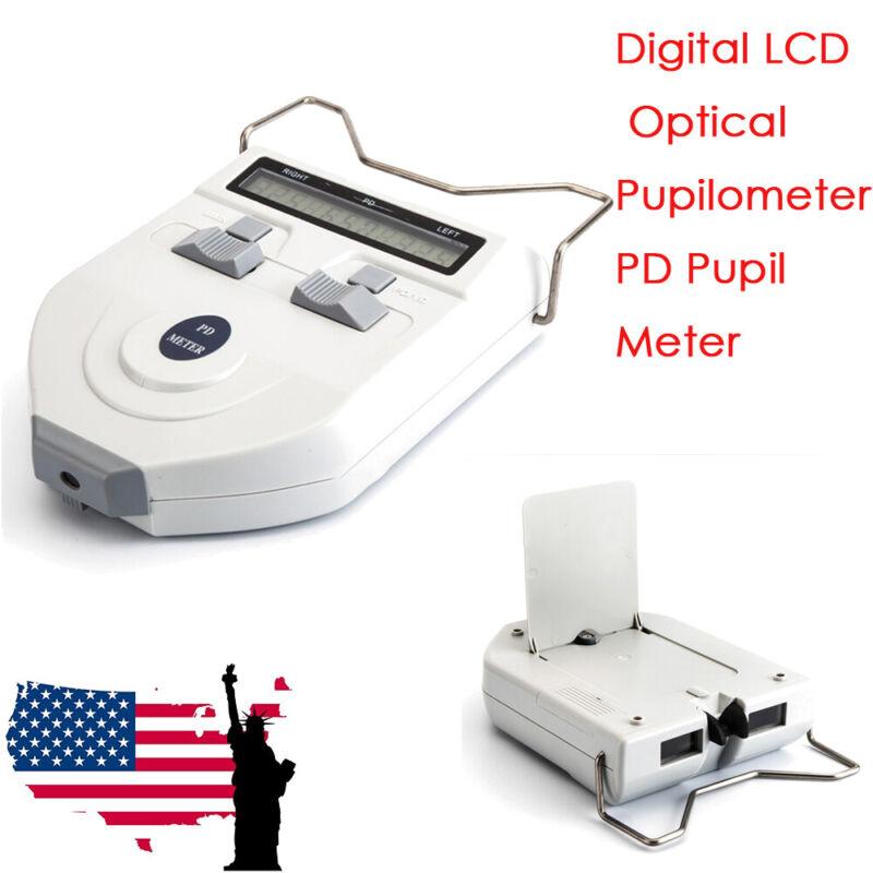 Digital Optometry LCD Light Source Optical Pupilometer PD Pupil Meter Equipment