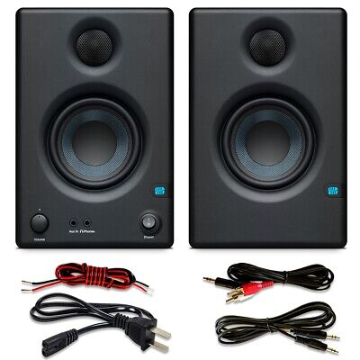 "PreSonus Eris E3.5 3.5"" Active Media Reference Monitors   PAIR"