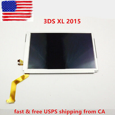 NEW Replacement Top Upper LCD Screen IPS Display for 2015 3DS XL US