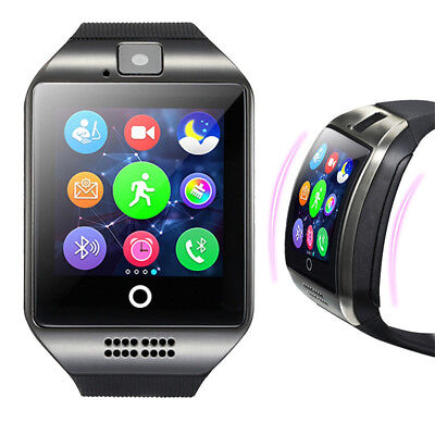 Q18 Sport SmartWatch Bluetooth Wasserdicht GSM Kamera TF Card für Android iPhone (Iphone-kamera Wasserdicht)