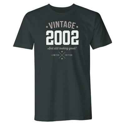 18th Birthday Gift Present Idea For Boys Dad Him Men T Shirt 18 Tee Shirt 2002 ()