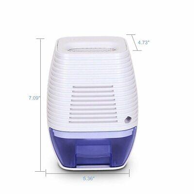 300ML Compact and Portable Mini Dehumidifier Ultra Quite in Home Closet