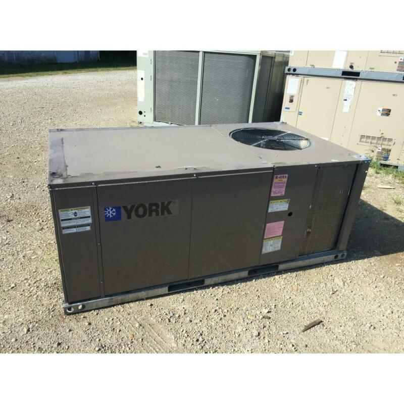 YORK XN048C00B4A1AAA1A1 4 TON CONVERTIBLE ROOFTOP HEAT PUMP AC, 14 SEER 3-PHASE