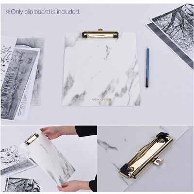 Clipboard Writing Pad File Folders Document Holder Paper Clip Office Supply O6a7