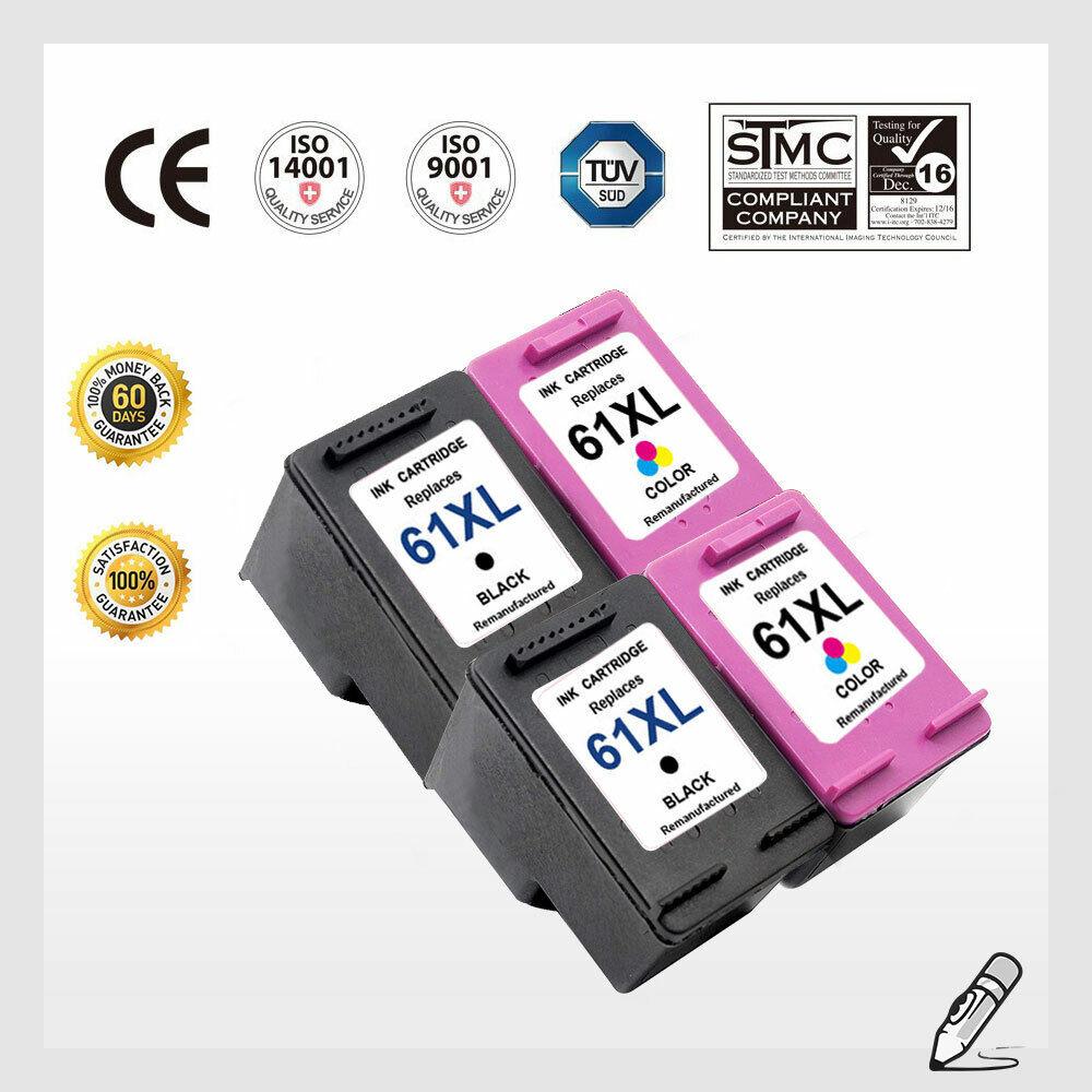 1000 1010 details about 61 xl black color ink cartridge for hp deskjet 1000 1010 1050  1051 2050#