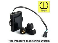 TPMS Wireless Tyre Pressure Monitoring System Android Car DVD GPS Xtrons Stereo - Includes 4 Sensors