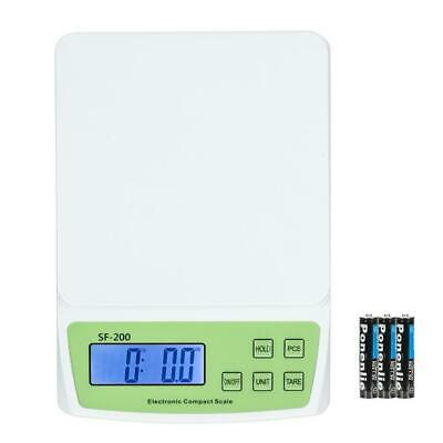 22 Lbs X 0.1oz 10kg Digital Shipping Postal Scale Postage Weight With 3x Battery