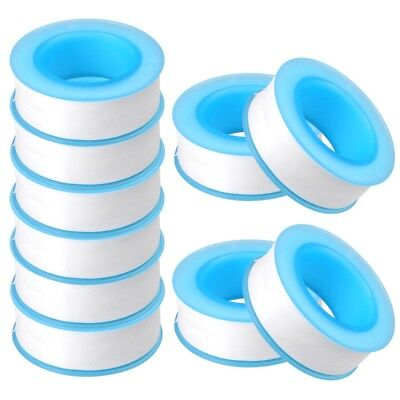 10x Roll Teflon Plumbing Fitting Thread Seal Tape 58x 315 Ptfe For Water Pipe