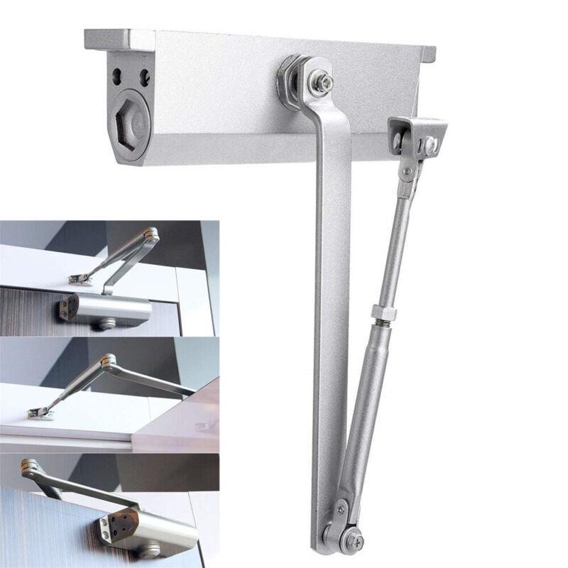 Hot Silver Aluminum Commercial Door Closer Independent Valves Control NS