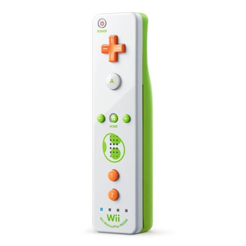 Nintendo Wii Remote Plus for Nintendo Wii U Yoshi RVLAPNWC