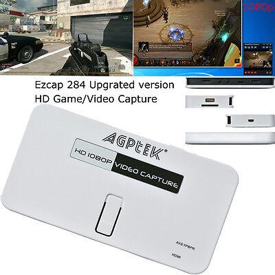 HD 1080p Video Capture HDMI COMPOSITE Recorder For VHS PS4 Wii U Ezcap284 USB2.0