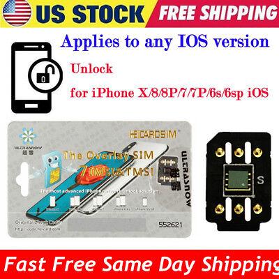 Perfect Unlock Turbo Sim Card For Iphone X 8 7 6S 6 Plus   5S Se Ios 11 3 1 Gpp