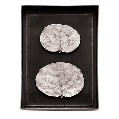 Michael Aram Botanical Leaf Shadow Box Antique Nickel