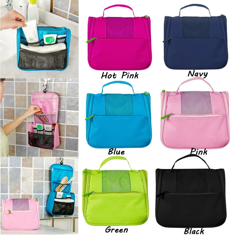 Women Travel Camping Toiletry Hanging Wash Makeup Cosmetic S