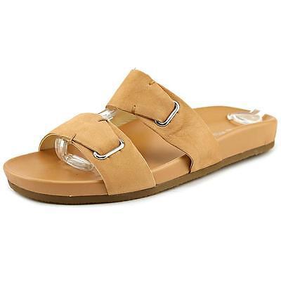 New Nine West Womens Zedge Nubuck Sandal Comfortable Shoes Sz 8